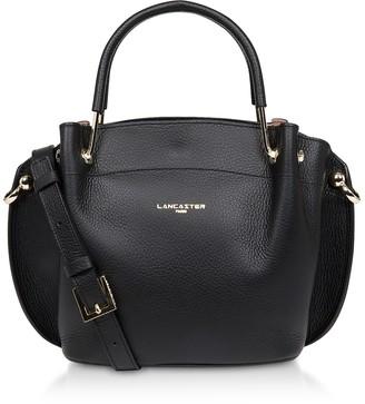 Lancaster Paris Two Tone Leather Double handles Satchel Bag