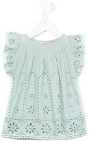Stella McCartney embroidered blouse - kids - Cotton - 10 yrs