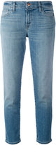 J Brand cropped straight leg jeans - women - Cotton/Polyurethane - 24