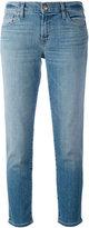 J Brand cropped straight leg jeans - women - Cotton/Polyurethane - 24