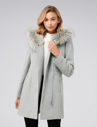 Ever New Prue Hooded Coat