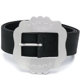 Isabel Marant Lewa square-buckle belt