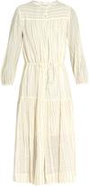 Etoile Isabel Marant Cotton-blend striped dress