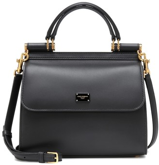 Dolce & Gabbana Sicily Small 58 leather shoulder bag
