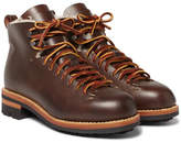 Feit Hiker Shearling-lined Leather Boots - Brown