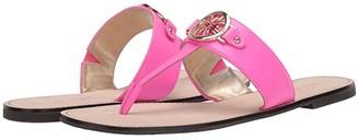 Lilly Pulitzer Rousseau Sandal (Gold Metallic) Women's Shoes
