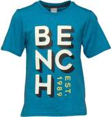 Bench Boys Brand Carrier T-Shirt Blue