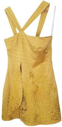 Karen Millen Yellow Dress for Women