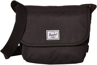 Herschel Grade Mini (Black) Messenger Bags