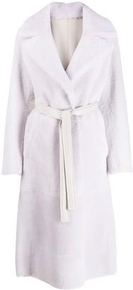 Blancha Reversible Belted Coat