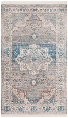 Safavieh Vintage Persian Collection VTP447 Rug, Grey/Blue, 8' X 10'