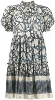 Ulla Johnson Foliage-Print Mini Dress