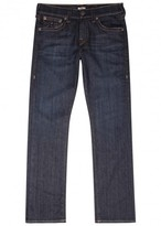 True Religion Ricky Blue Straight-leg Jeans