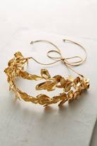 Jennifer Behr Golden Lotus Headband