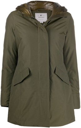 Woolrich Concealed Front Coat