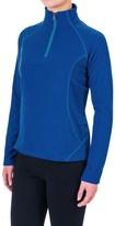White Sierra Alpha Storm Fleece Shirt - Zip Neck, Long Sleeve (For Women)