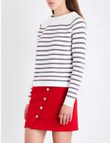 Maje Millau wool-blend jumper