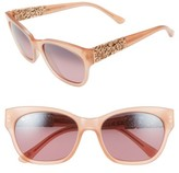 Maui Jim Women's Monstera Leaf 57Mm Polarized Sunglasses - Guava Pink