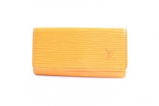 Louis Vuitton Yellow Leather Purses, wallets & cases