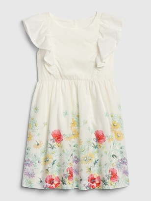 Gap Toddler Floral Ruffle Dress