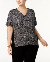 MICHAEL Michael Kors Size Lace-Back Top