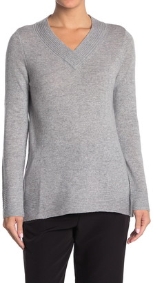 Kinross V-Neck Cashmere Pullover Sweater