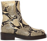 Marni 40MM PIERCING LEATHER ANKLE BOOTS