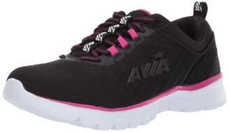 Avia Women's Avi-Factor Sneaker Jet Black/Magenta/New Titanium 9 Medium US