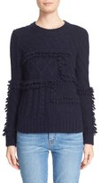Derek Lam 10 Crosby Looped Cable Knit Sweater