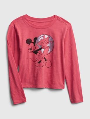 Disney GapKids   Graphic Cropped T-Shirt