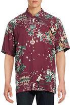 Tommy Bahama Merry Kitchmas Silk Shirt