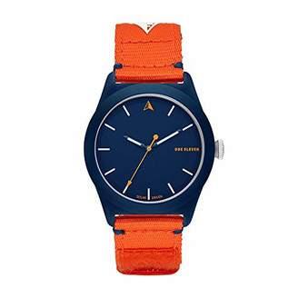Eleven Paris One Analog Quartz Watch with Nylon Strap