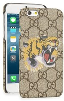 Gucci Tiger Iphone 6 Case - Beige