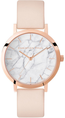Christian Paul Marble Rose Watch