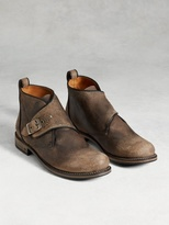 John Varvatos Engineer Moto Chukka