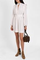 Isabel Marant Brad Button Neck Dress