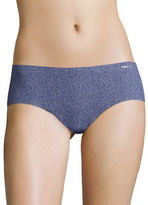 Calvin Klein Invisibles Printed Seamless Hipster Panties