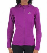 Salomon Women's Discovery Hooded Running Midlayer 44279
