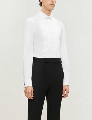 Tom Ford Slim-fit cotton evening shirt