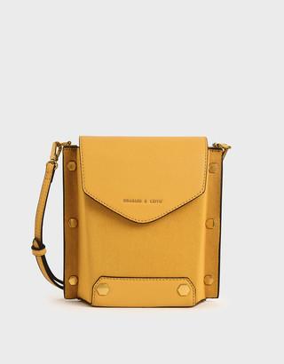 Charles & Keith Studded Textured Bag