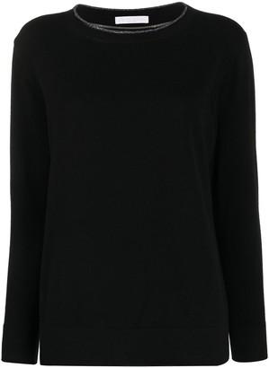 Fabiana Filippi Layered-Neck Sweater