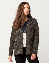 Full Tilt Camo Womens Anorak Jacket