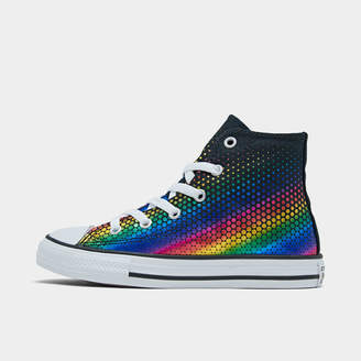 Converse Girls' Little Kids' Galactic Nuclei Chuck Taylor All Star High Top Casual Shoes