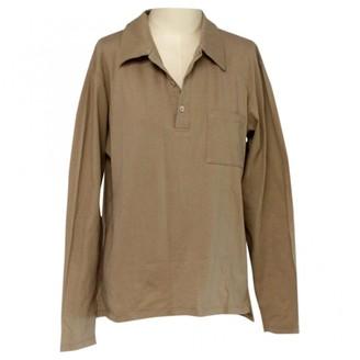 Helmut Lang Beige Cotton Polo shirts
