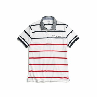 Tommy Hilfiger Adaptive Men's Polo Shirt with Magnetic Buttons Slim Fit