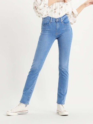 Levi's 724 High Rise Straight Jeans, Rio Chill