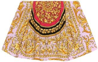 Versace Kids Baby stretch-cotton skirt