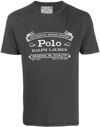 Polo Ralph Lauren short sleeve printed logo T-shirt
