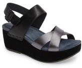Dansko Women's Stasia Platform Wedge Sandal