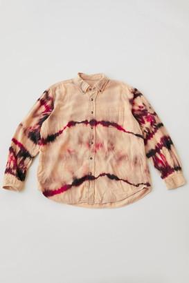 Urban Renewal Vintage Recycled Bleached Twist Flannel Shirt